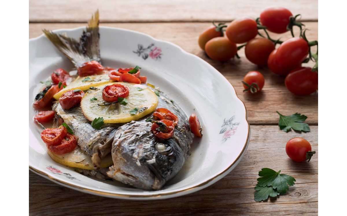Grilled Sharp snout Sea Bream