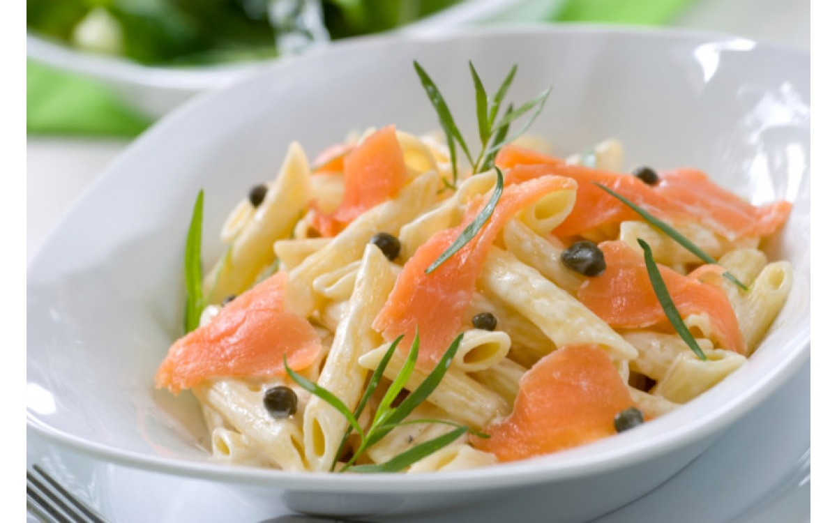 Pasta with salmon & vodka