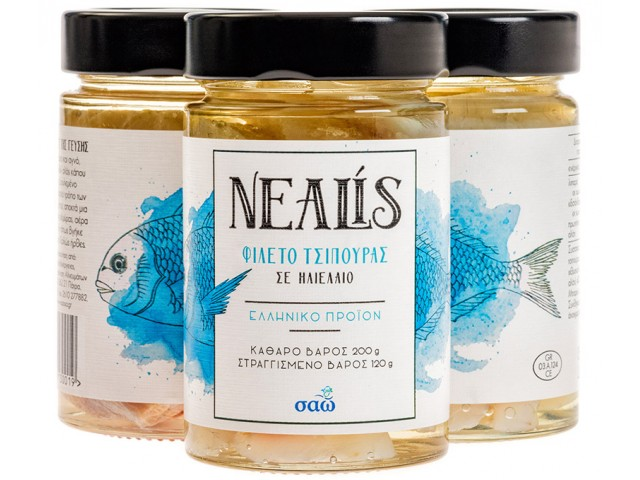 Nealis cured with salt
